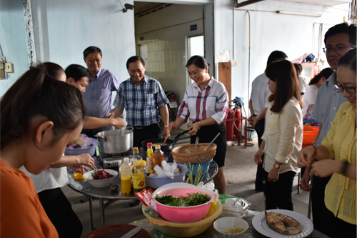 Hội thi nấu ăn mừng ngày Gia đình việt Nam