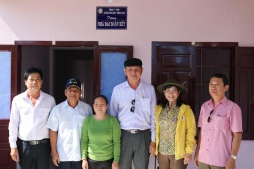 Trao nhà Đại Đoàn kết tại Bình Thuận
