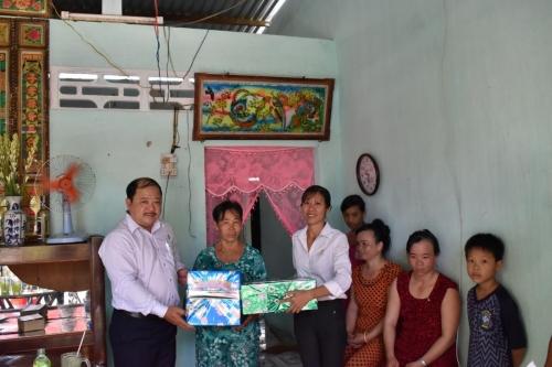 Trao nhà tình thương tại xã Phong Hòa, Lai Vung